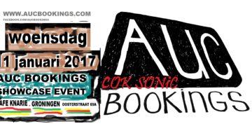 AUC Bookings showcase 2017 GRONINGEN: 11/01/17